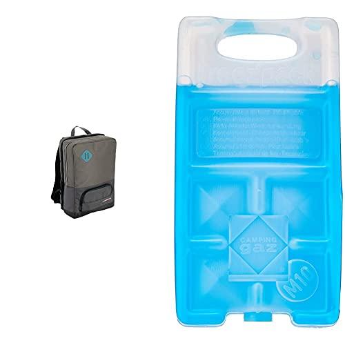 Campingaz Office Backpack, Mochila, refrigera hasta 16 Horas + 9377 Acumulador Frio, Unisex, Azul, 18 x 9.4 x 3.2 cm