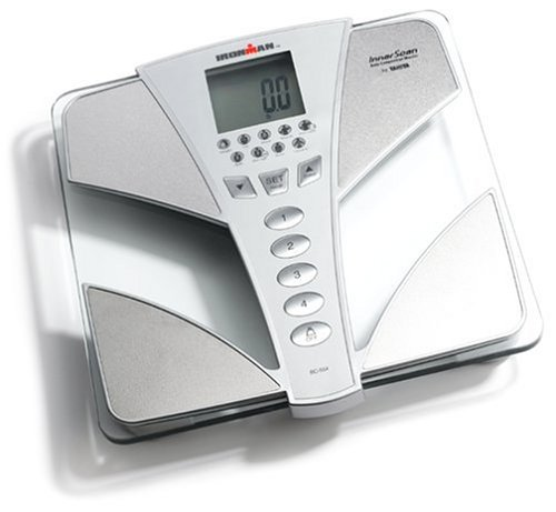 Tanita BC554 Ironman Glass InnerScan Body Composition Monitor...