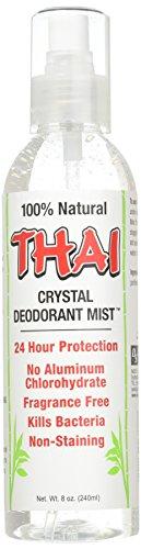 Thai Deodorant Stone Crystal Deodorant Mist, 8 Ounce -- 6 per case.