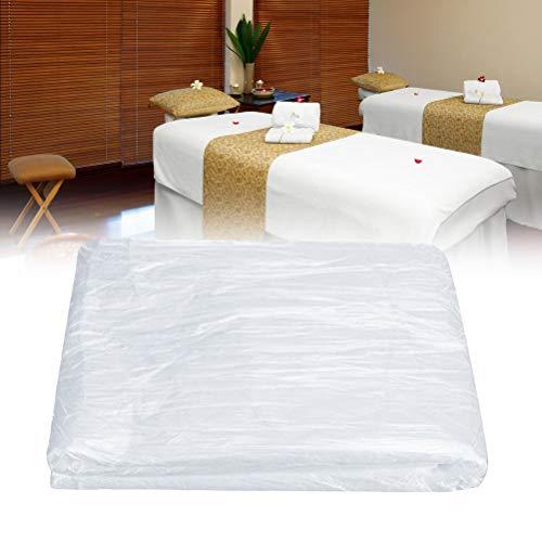 Fovor 200 Einweg-Couch-Bezüge, Massageliege, Einweg-Bezüge aus Kunststoff, für Schönheitssalon, Massage, Tattoos, Hotels (90 x 180 cm)