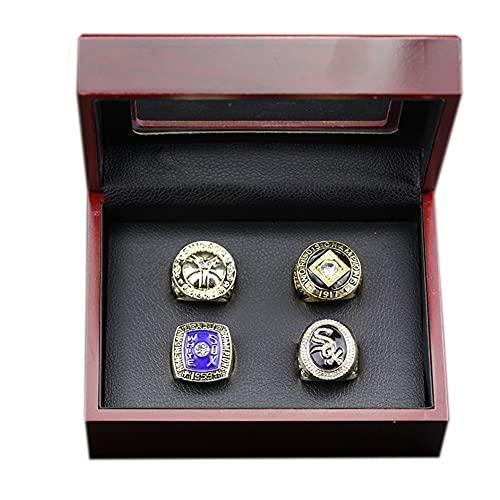 Fei Fei MLB 1906 1917 1959 2005 5 Anillos de Campeonato Juego de La Serie Mundial de Béisbol, Fanáticos,with Box,11#