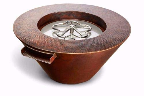 Great Features Of HPC Fire Mesa Copper Fire and Water Bowl w/Electronic Ignition - LP