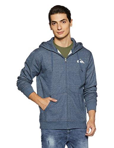 Quiksilver Everyday Sweat-shirt à capuche zippé Homme Dark Denim FR : XS (Taille Fabricant : XS)
