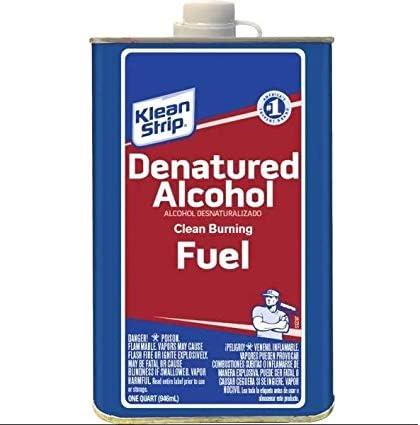 Recommendation Denatured Super sale Alcohol Quart