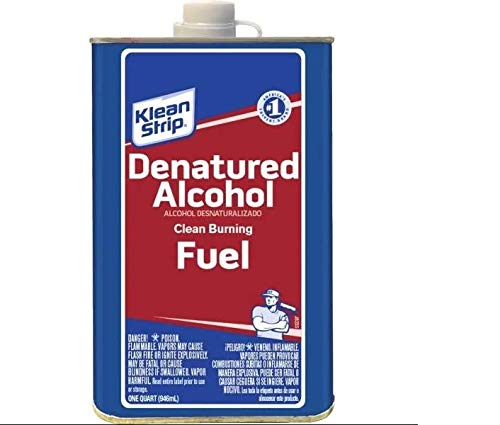 "Klean-Strip QSL26 Denatured Alcohol, 1-Quart ""Packaging may vary"""