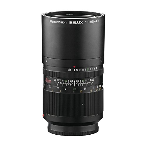 Handevision Ibelux - Objetivo para Sony E-Mount (40 mm f/0.85)