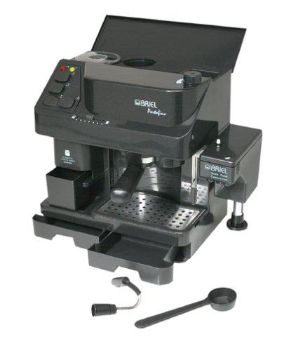 Briel EG82CAB Portofino Combination Pump Espresso Machine with Built-In Burr Grinder