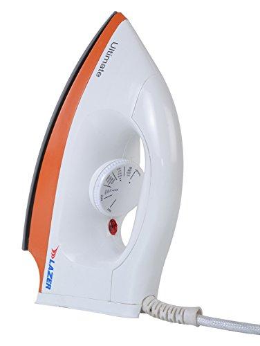 Lazer Ultimate 1000-Watt Dry Iron (White)