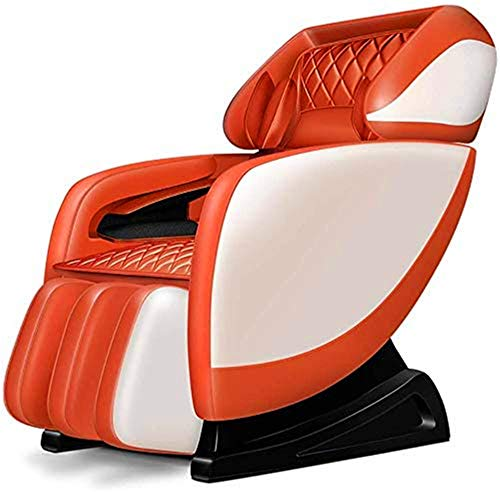 Massage Chair Massage Chair SL rail multi-function household body zero gravity kneading massage sofa chair with Shiatsu, Foot Rolling and Built in Heat, Stretch Mode Professional Massage And Relax Cha