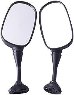 XMT-MOTO Black Side Rear View Mirrors For Honda HYOSUNG GT125R GT250R GT650R GT650S