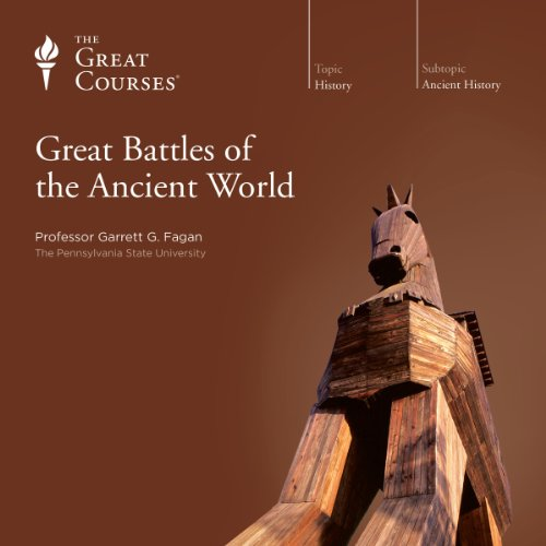 Great Battles of the Ancient World audiobook cover art