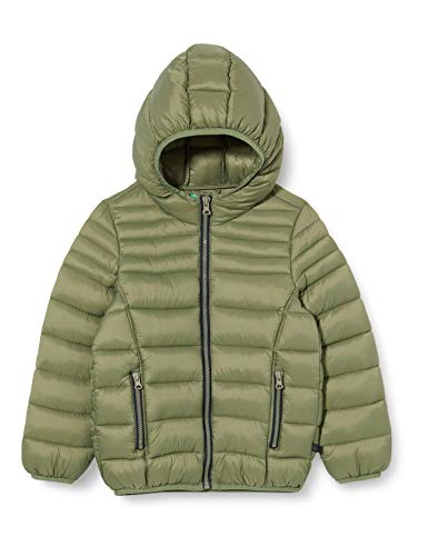 United Colors of Benetton 2BA253J60 Giacca, Deep Lichen Green 34f, L Bambino