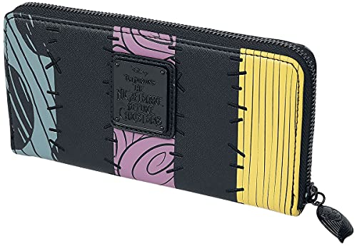 Loungefly x Nightmare Before Christmas Sally Cosplay Zip-Around Wallet (Multicolored, One Size)
