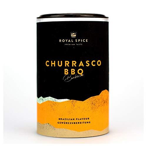 Royal Spice - Churrasco BBQ 100g - Brasilianischer Steak und Fleisch Rub perfekt für Rind - Churrasco und Asado Rub als BBQ Rub & Gewürzmischung nach typischer lateinamerikanischer Art
