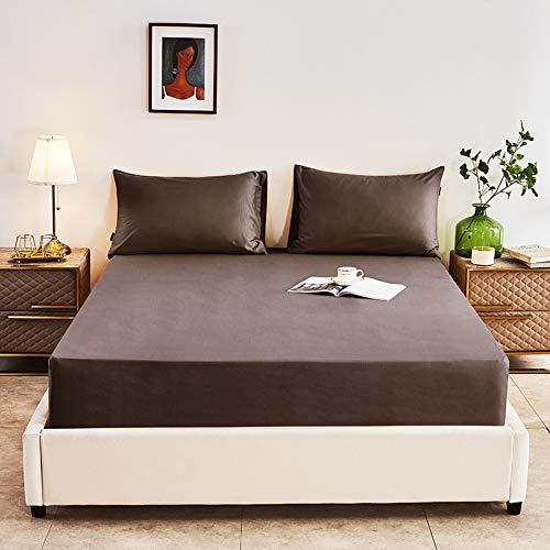 haiba Comfy Night - Juego de sábanas de franela para cama de matrimonio, sábana encimera, sábana encimera, 150 x 200 cm