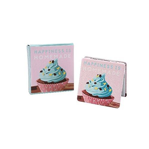 Compact Pliant Miroir De Sac À Main Maquillage Produits De Beauté Voyage Grossissant Design De Cupcake