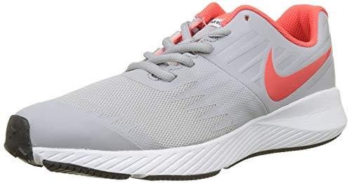 Nike Star Runner (Gs), Scarpe da Running Bambino, Grigio (Wolf Grey/Bright Crimson/Black/White 003), 40 EU