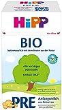Hipp Bio Milchnahrung Pre, 4er Pack (4 x 600 g)