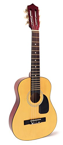 Price comparison product image Hohner 6 String Acoustic Guitar,  Right Handed,  Natural (HAG250P)