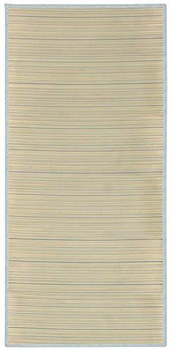 萩原 肌に跡がつきにくい い草シーツ ブルー 約W80×D170cm 「涼仙」 81935250