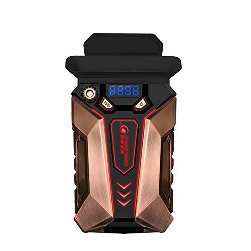 Docooler COOLCOLD K30 Laptop Extractor de Aire Ventilador de refrigeración Ordenador portátil Aleación de Cobre Enfriador Luz de respiración Bajo Ruido