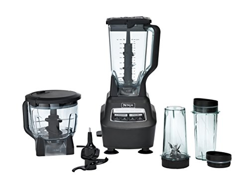 Ninja Mega Kitchen System (BL770) Blender/Food Processor with 1500W Auto-iQ Base, 72oz Pitcher, 64oz...