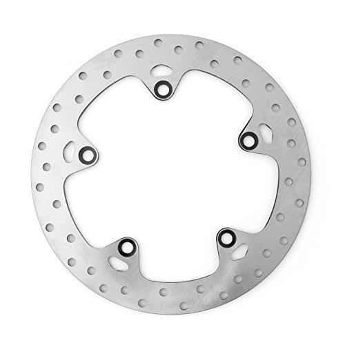 Artudatech - Discos de freno traseros para motocicleta, rotor de freno de disco trasero de acero inoxidable para B M W F650GS F700GS F800GS/GT/R/S/ST R1200GS/RT/ST HP2