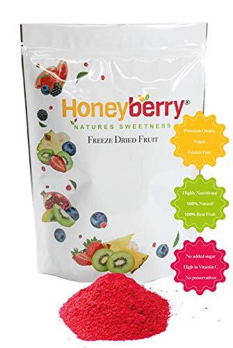 Freeze Dried Raspberry Powder (150g), No Added Sugar, 100% Natural, Gluten Free, Vegan Friendly