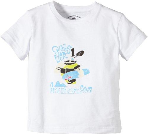 Quiksilver t-Shirt à Manches Courtes pour garçon r29 Boy 5 Ans Blanc - Blanc