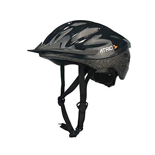 Capacete para Ciclismo MTB Tam. G Alças Ajustáveis e 19 Entradas de Ar Preto - BI003 Atrio