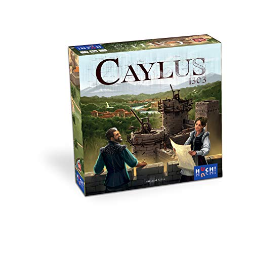 HUCH! Caylus 1303 Strategiespiel, Workerplacement