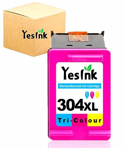 304XL Cartuchos de tinta reciclados para HP 304 Cartucho tinta HP 304 HP 304 XL para HP Envy 5010 5020 5030 (1 Tri-color)