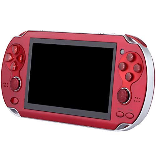 Jackallo Consola de Juegos Portátil,Consola de Juegos Clásica 4. Consola de Juegos Retro Portátil con Pantalla HD de 4 Pulgadas 3000 Juegos Incorporados con Botones de Joystick Dobles para