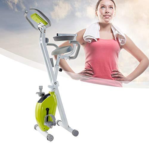 ZhiLianZhao Entrenador Plegable Indoor, Bicicleta Estática Plegable, Soporte de Peso de 150 Kg, para Ejercicio De Entrenamiento Corporal Total