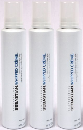 Sebastian Whipped Creme Style Whip (Light Conditioning) - 3-Pack by Sebastian International, Inc.