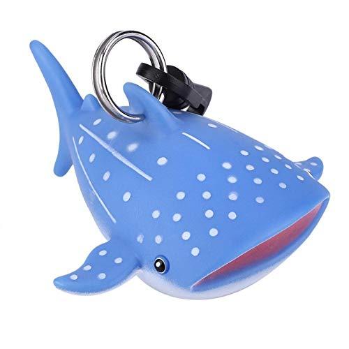 DAUERHAFT Cubierta de Boquilla de Buceo Forma Linda de Dibujos Animados, para Deportes acuáticos Buceo con escafandra(Whale Shark)