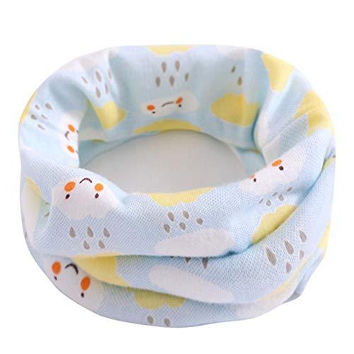 Primavera algodón de los niños de la bufanda de los niños bebé caliente del collar de la bufanda del otoño muchachos del invierno bufandas muchacha de la historieta del niño O anillo mágico Pañuelo