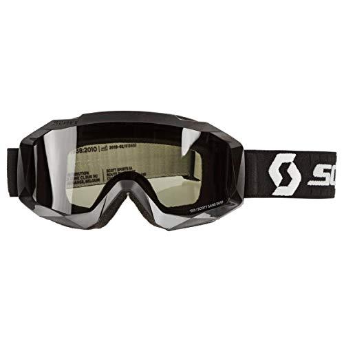 Scott Hustle X Sand Dust MX Goggle Cross/MTB Brille schwarz/grau/grau