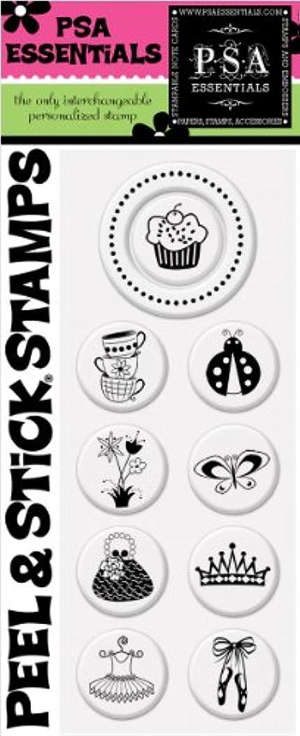 PSA Essentials Peel and Stick Stamps, Cupcake