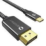 WARRKY USB C auf DisplayPort Kabel, 4K@60Hz,...