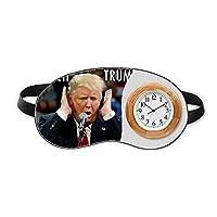 アメリカの大統領は、面白い面白いトランプ 睡眠時計旅行昼休み眼帯