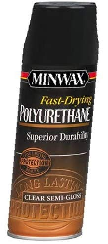 Minwax 33055000 Fast-Drying Polyurethane Aerosol, 11.5 Ounce, Semi-Gloss-1