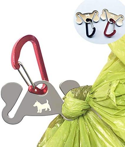 Dog Poop Bag Holder Waste Bag Holder Dog Poop Bag Carrier Hand Free Holder 2pc product image