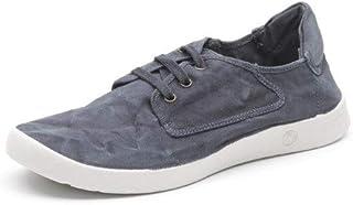 Natural World Cordones de los Zapatos de los Hombres Cordones de algodón ecológico Plantar removible Zapatos Vegan
