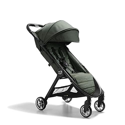 Baby Jogger City Tour 2 Ultra-Compact Travel Stroller, Everett Green