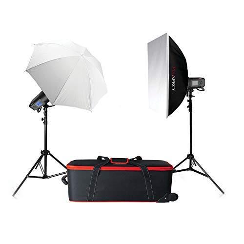 Pixapro CITI400 pro geïntegreerde studioflitser dubbele set verlichten licht studio fotografie 2 jaar UK garantie Britse goederen BTW geregistreerd