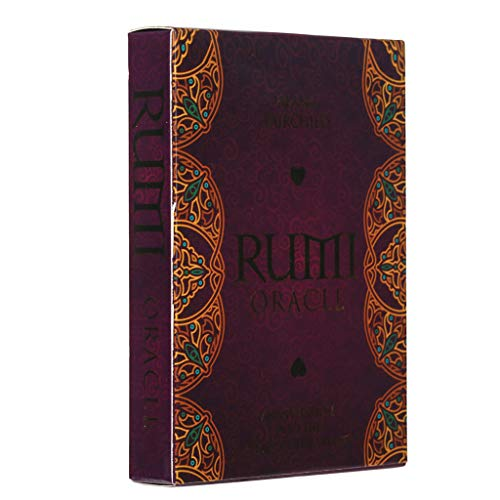 llio Rumi Oracle An Invitation Into The Heart of The Divine 44 Cards Deck Black Friday Sales 2020 Game