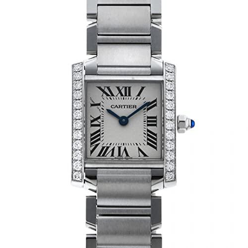 カルティエ Cartier タンク フランセーズ SM W4TA0008 シルバー文字盤 腕時計 レディース (W209782) [並行輸入品]