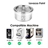 OHOME Stainless Steel Refillable Coffee Filters Coffee Capsule Pod For Lavazza Espresso Point & Lavazza Blue & Lavazza a Modo...