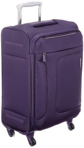 [サムソナイト] スーツケース キャリーケース アスフィア スピナー55 機内持込可 保証付 39L 48 cm 2.4kg パープル